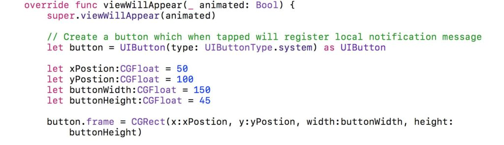 Swift Code Examples and Snippets